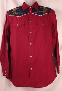 High noon western long sleeve shirt